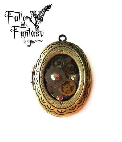 Steampunk locket