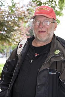 Robert Hansen as Real Change Vendor of the Week