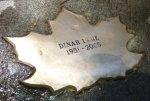 Leaf of Remembrance for Dinah Lane