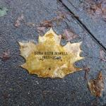 Edna Howell Leaf of Remembrance