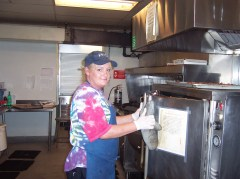 Jeanine cooking
