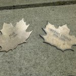 Leaf of Remembrance for Michael Lindsay's dog, Bear