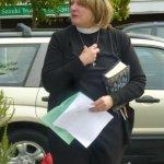 Pastor Britt Olson of St Luke's Episcopal Church