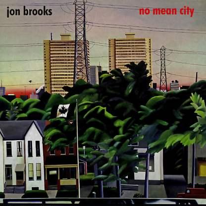 Cover shot of Jon Brooks - No Mean City