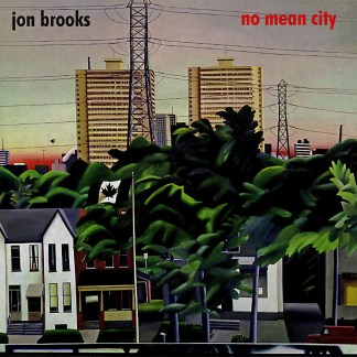 Cover shot of Jon Brooks - No Mean City