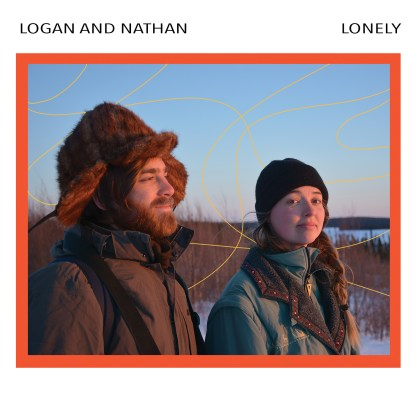 Cover shot of Logan and Nathan - Lonely