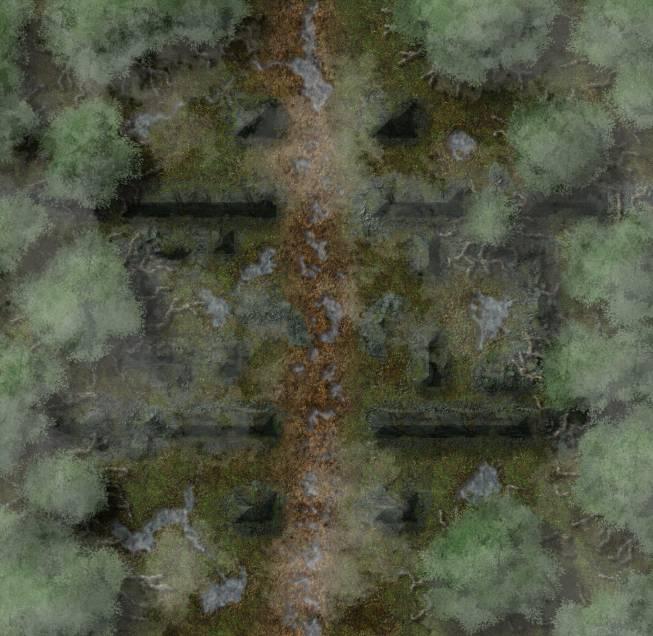 Chester Ridge Ruins: Outskirts