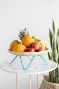 How to Make a DIY Midcentury Fruit Basket | Fall For DIY