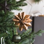 Diy Recycled Paper Star Decorations Fall For Diy