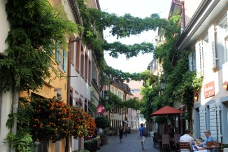 The streets of Freiburg are beautiful!
