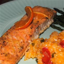 Orange Ginger Salmon 2