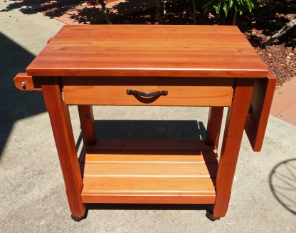 Redwood Grill Cart