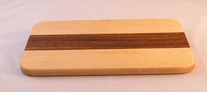 Maple and Zebra Wood Cheese Board