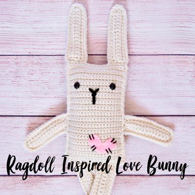 Falling Spring Crochet Ragdoll Inspired Love Bunny Gallery Thumbnail