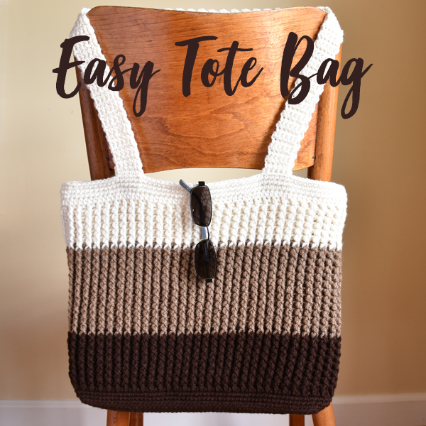 Falling Spring Crochet Easy Tote Bag Crochet Pattern Gallery Thumbnail