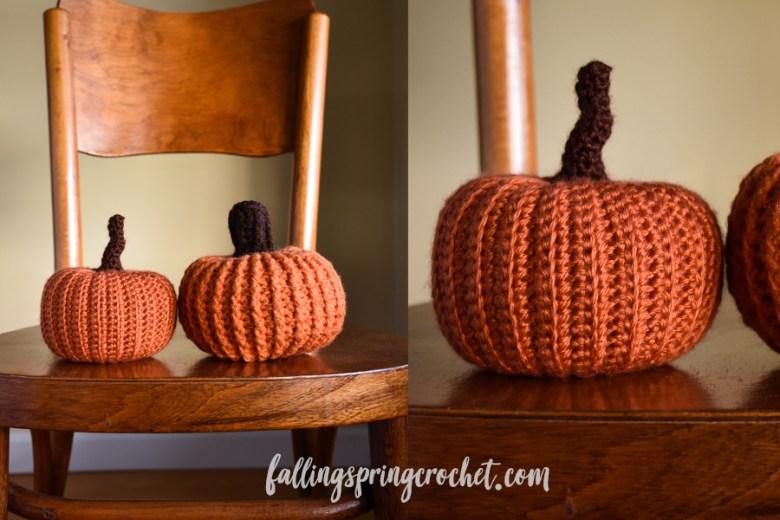 Falling Spring Crochet Easy Crochet Pumpkin Patterns
