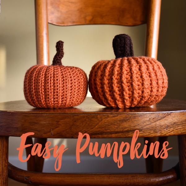 Falling Spring Crochet Easy Pumpkins in 2 Sizes Crochet Pattern Gallery Thumbnail