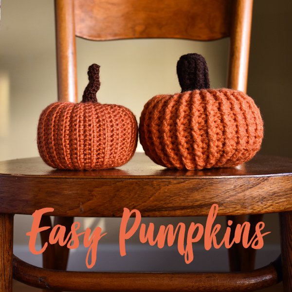 Falling Spring Crochet Easy Pumpkins in 2 Sizes Crochet Pattern Gallery Thumbnail