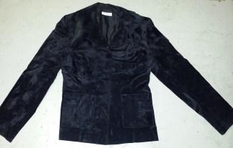 Jeff Galano zwart velours jasje