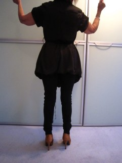 Patrizia Pepe satijnen blouse