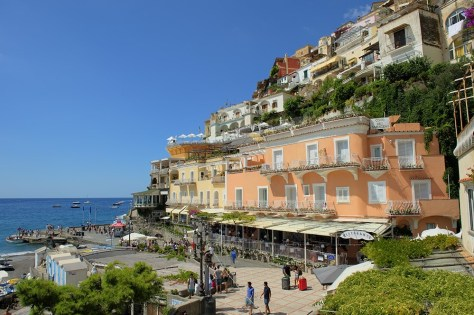 More Positano colors on a beautful August day. Photo by BW.
