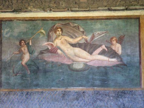 Pompeii art. Photo by Kat.