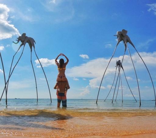 Sunset Sanato, Phu Quoc, Vietnam, elephant, beach, Phu Quoc