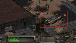 Fallout 2 - wrak Highwaymana