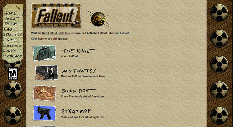 Oficjalna strona Fallout