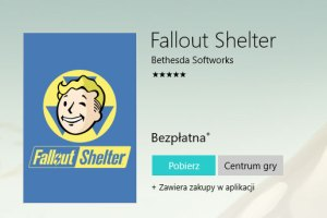 Fallout Shelter w Windows Store