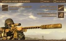 ... a także innych broni! Warto dodać że modyfikacja nie gryzie się z innymi pakietami broni!