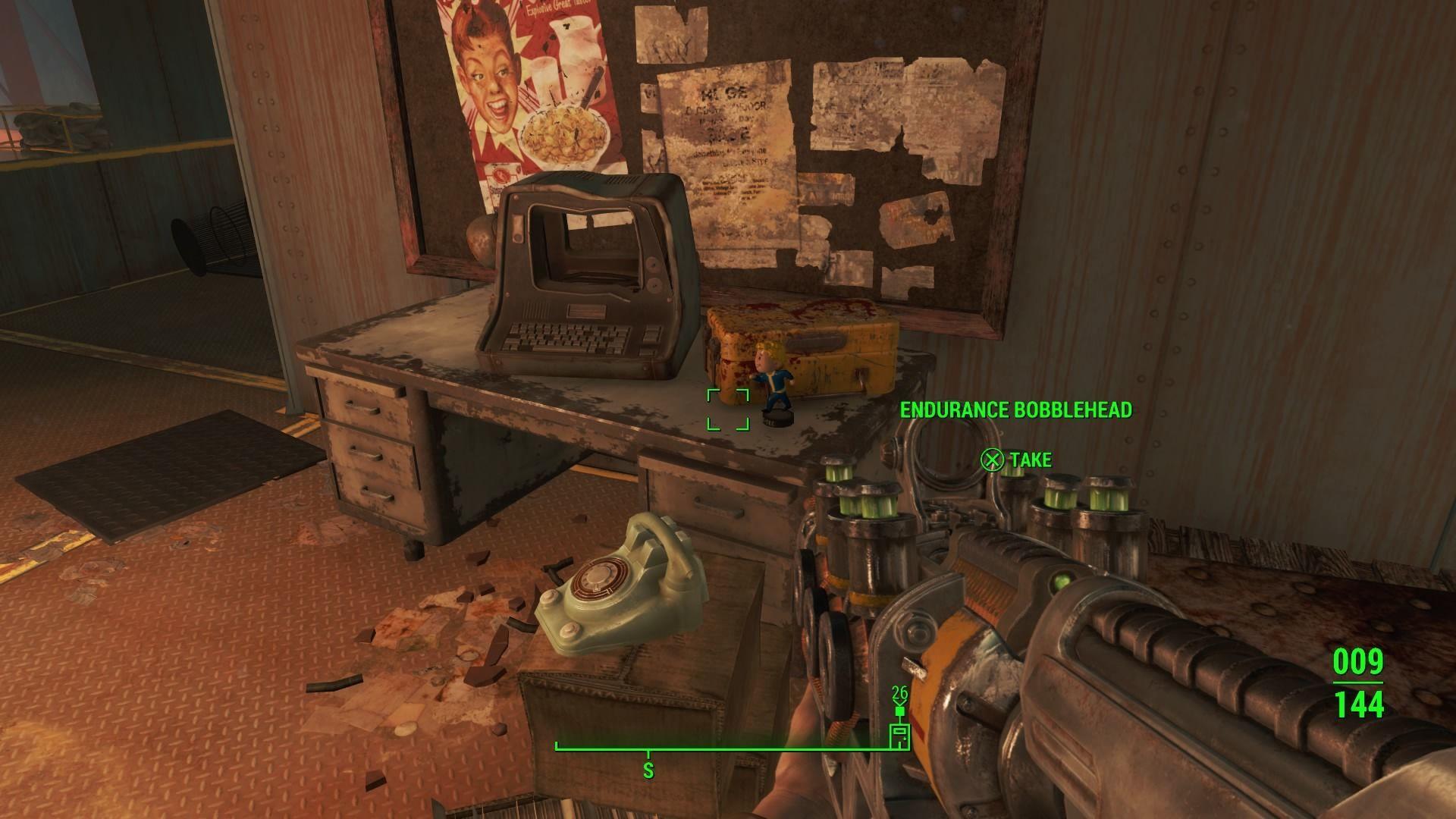 Endurance Bobblehead Fallout 4 Wiki