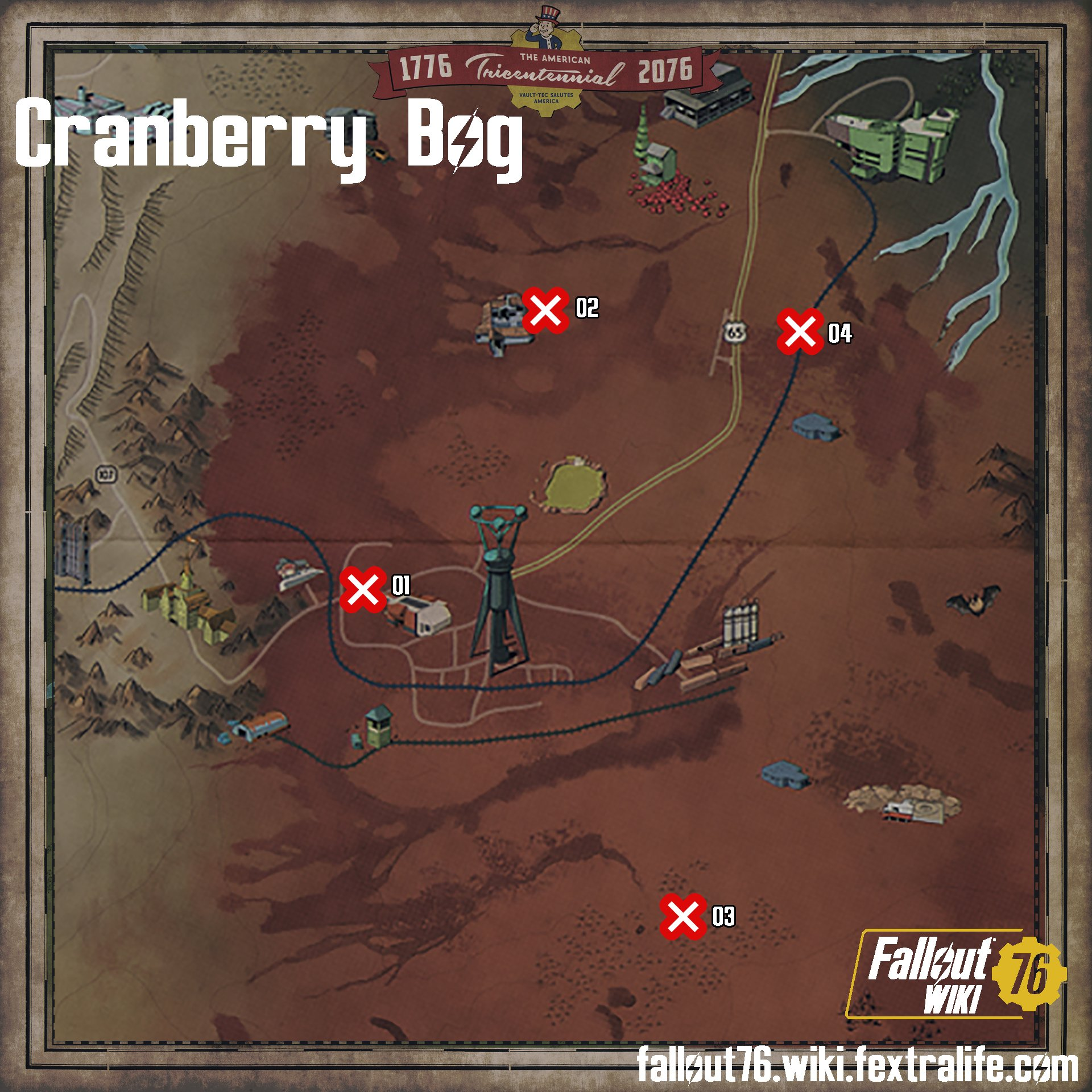 All Treasure Maps Of Fallout 76 Fallout 76 Wiki