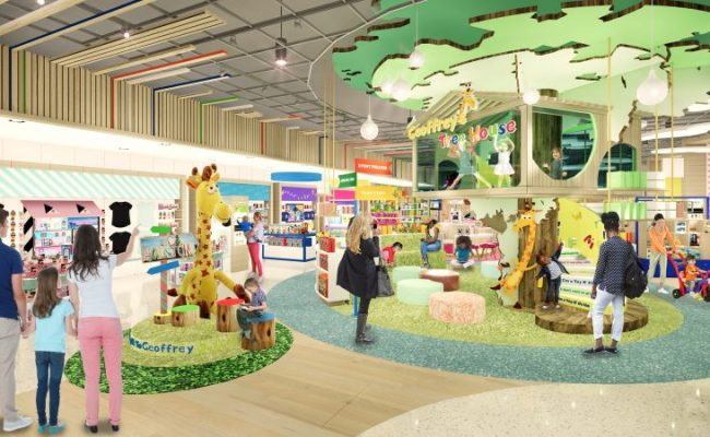 Toys R Us Debuts New Store Layout With Opening Of First