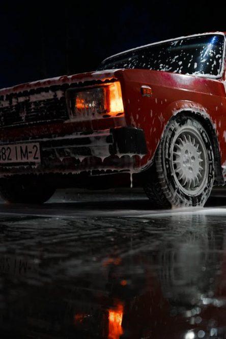 Vaskemiddel bil