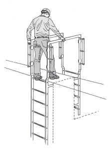 GrabSafe Fixed Ladder Hatch Safety Fall Safety Solutions