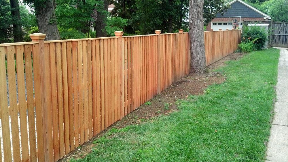 wood fences advantages types