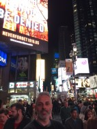 Mark in Times Square