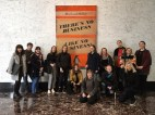 Falmouth Illustration Students visiting Penguin New York 2017