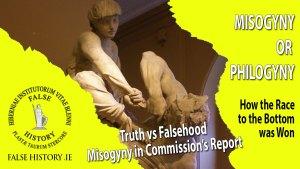 False charges of misogyny against the Irish nation
