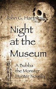 Night at the Museum Cover (A Bubba the Monster Hunter Novella)