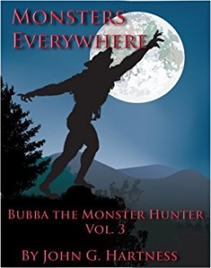 Cover Art for Monsters Everywhere