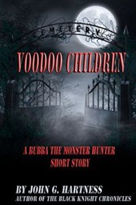 Cover Art for Voodoo Children (A Bubba the Monster Hunter Short Story)