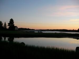 Midnatt över Hankö