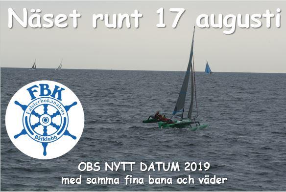 Näset Runt 2019 nytt datum!