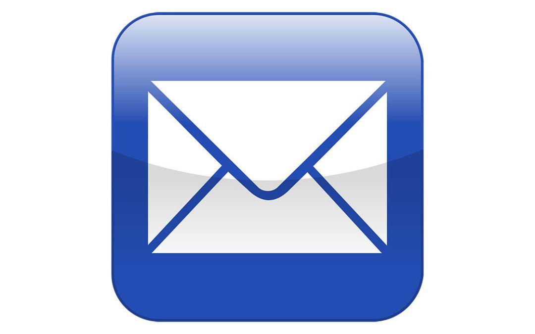 Ändrade e-post adresser?