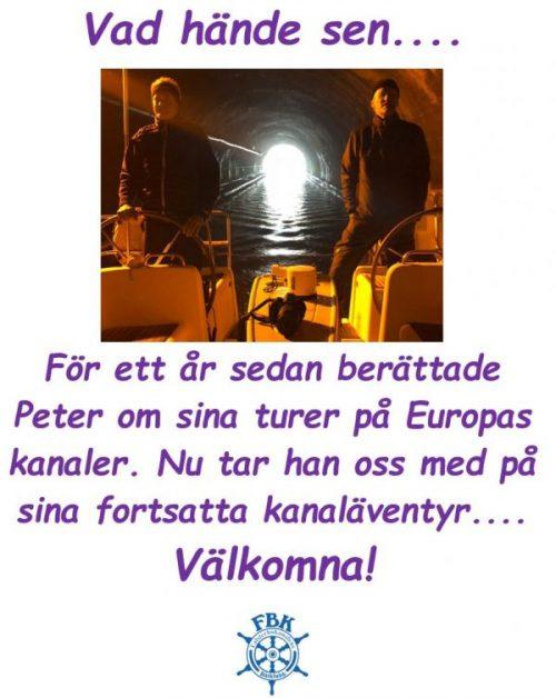 Välkomna på söndagsfika med Peter Malmkvist 9:e februari 1100