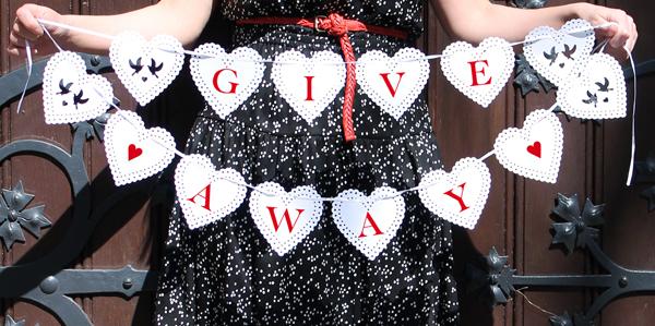 Kleines HochzeitsSpecial Teil 2  Giveaway Time   faltmanufaktur Blog