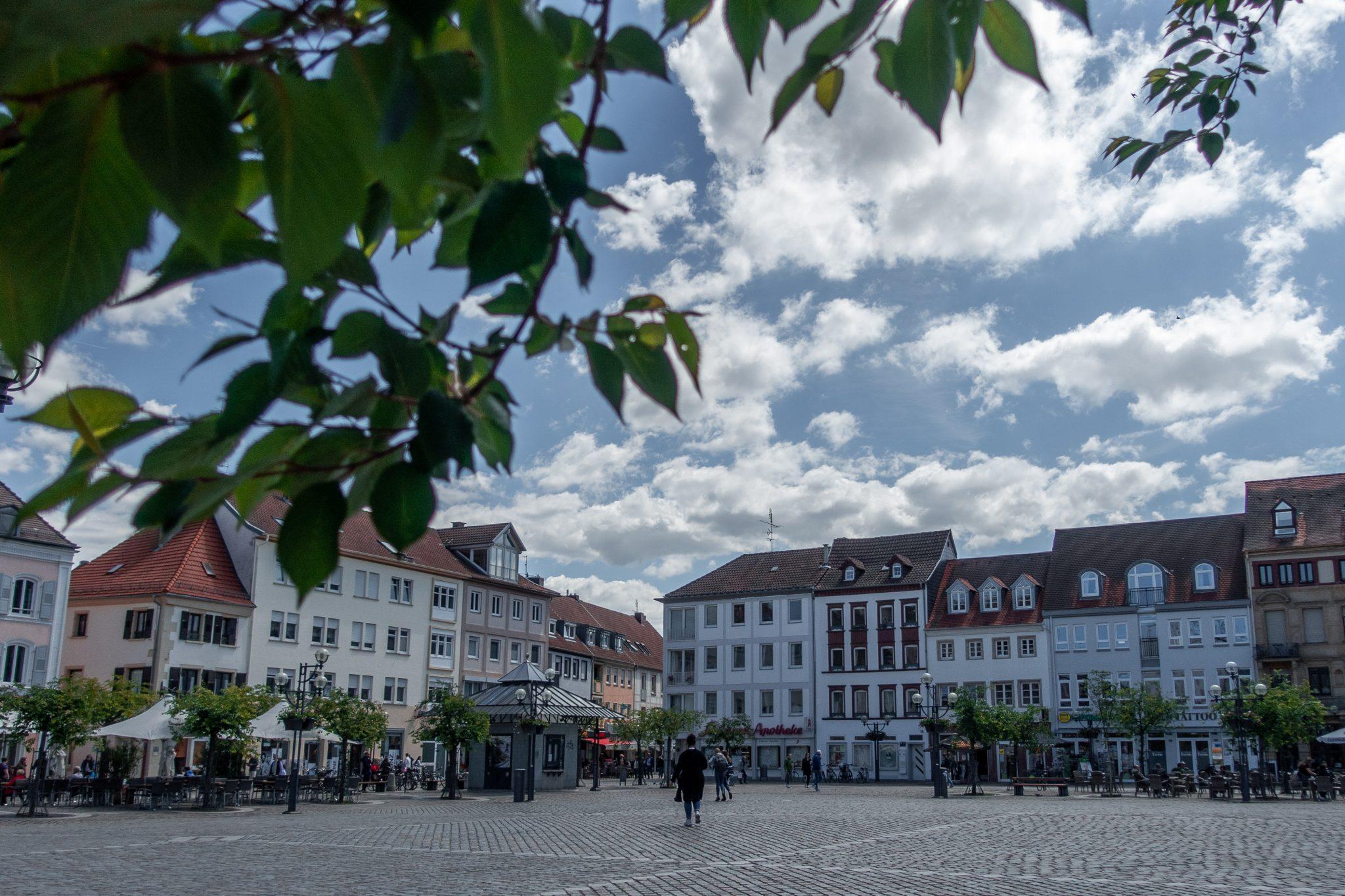 Landau-pfalz-rathausplatz