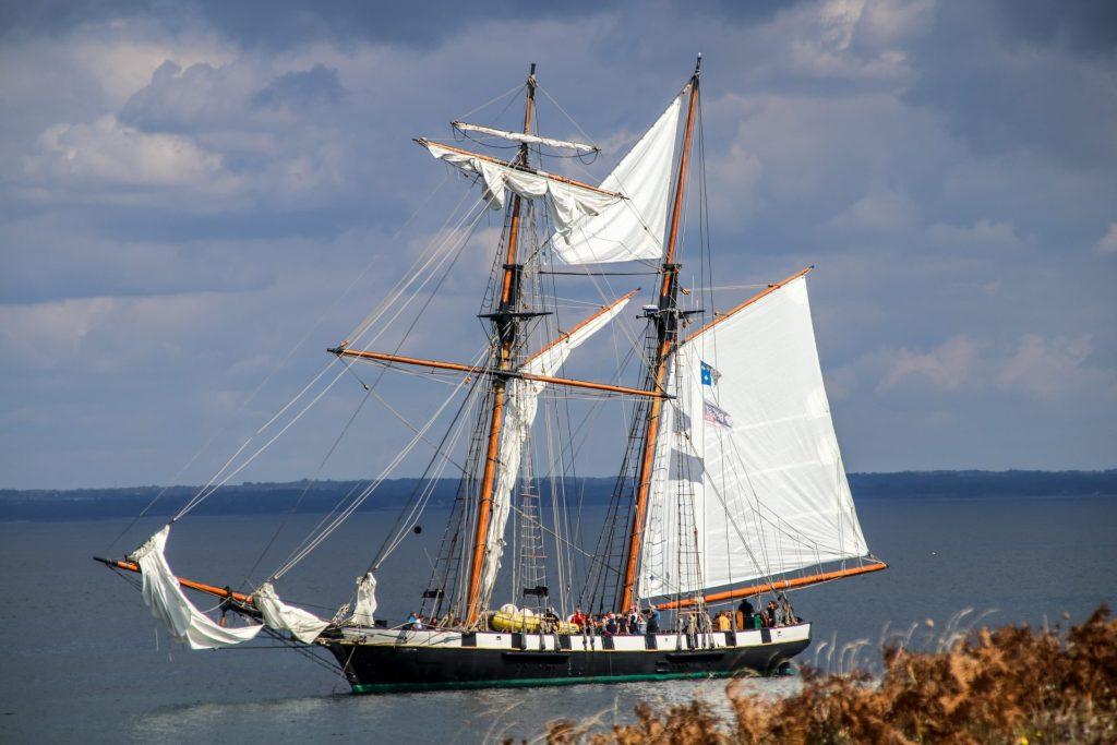 Glénan-Inseln-Segelschiff